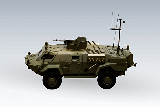 Chemical reconnaissance vehicle (РХМ) CHIMERA
